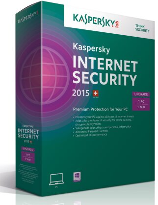 Kaspersky Internet Security 2015 1User Upgrade (PC)