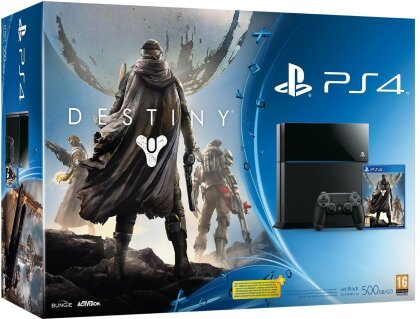 Sony Playstation 4 Konsole 500GB + Destiny