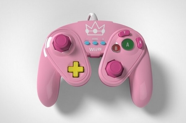 WiiU Gamecube Controller Peach (Limited Edition)