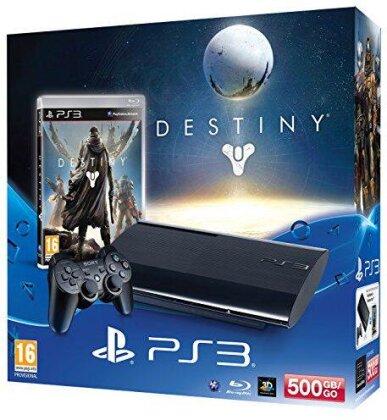 Sony Playstation 3 Konsole 500GB + Destiny