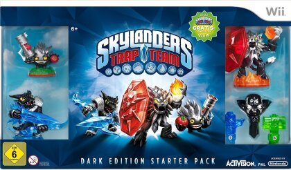 Skylanders Trap Team Starter Pack (Dark Edition)