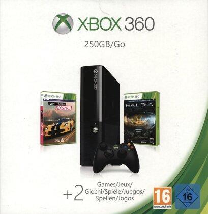 XBOX 360 Spring Bundle - Console 250 GB +Forza Horizon/Halo 4