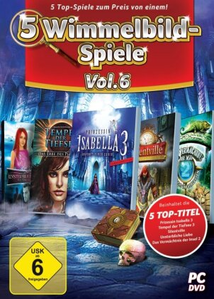 5 Wimmelbild-Spiele - vol. 6