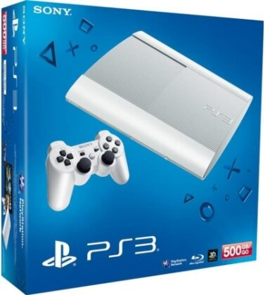 Sony Playstation 3 500GB Weiss