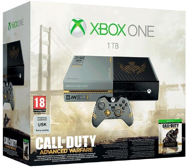 XBOX ONE Bundle - Console 1 TB + Call of Duty: Advanced Warfare (Limited Edition)