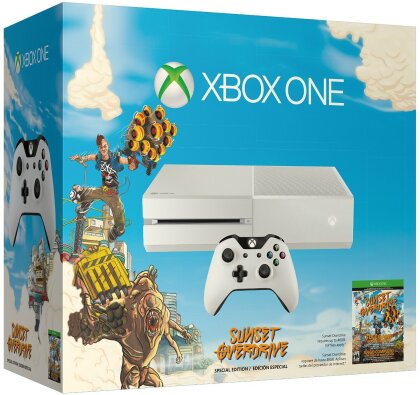 XBOX-One 500GB weiß + Sunset Overdrive