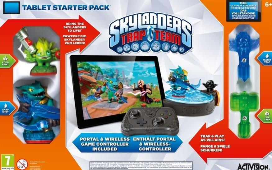 Skylanders Trap Team Tablet Starter Pack