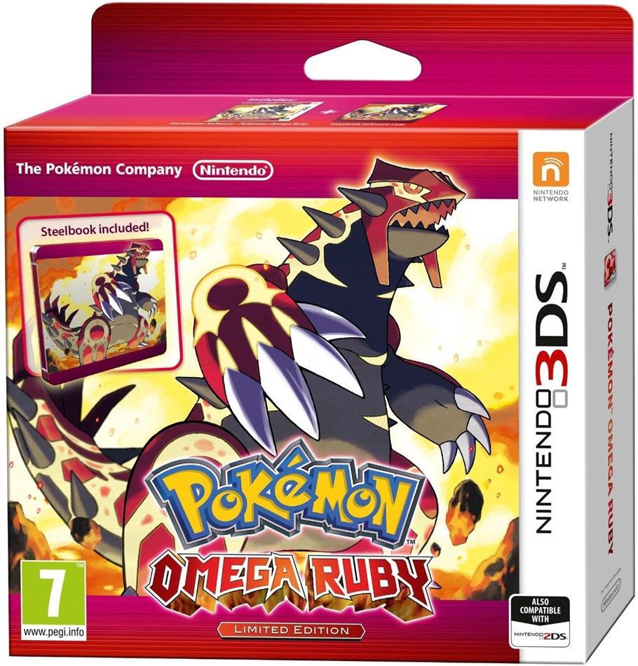 Pokemon Omega Rubin (Limited Steel Book)
