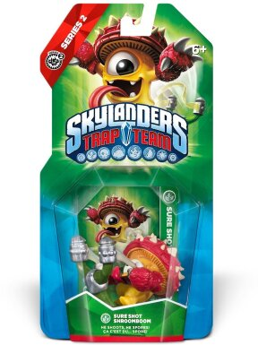 Skylanders Trap Team Single Character W1.0 Shroomboom