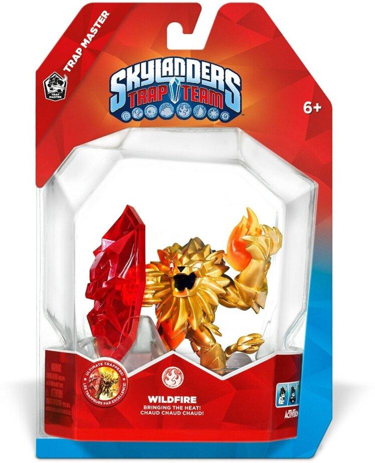 Skylanders Trap Team Trap Masters W1.0 Wildfire