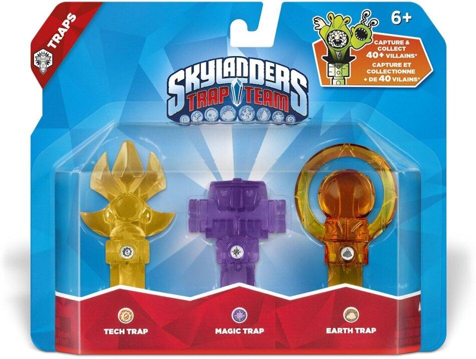 Skylanders Trap Team Traps 3er Pack 1 (Tech,Magic,Earth)