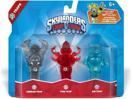 Skylanders Trap Team Traps 3er Pack 2 (Air, Undead, Fire)