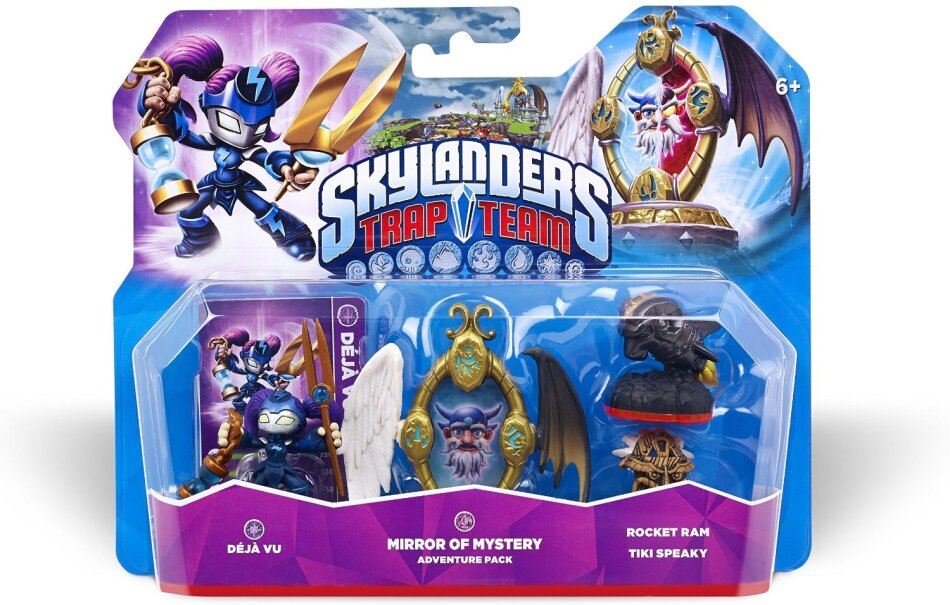 Skylanders Trap Team Adventure Pack Wave 2.0 (Deja Vu, Mirror of Mystery, Rocket Ram, Tiki Speaky)