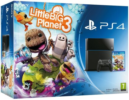 Sony Playstation 4 500GB + Little Big Planet 3