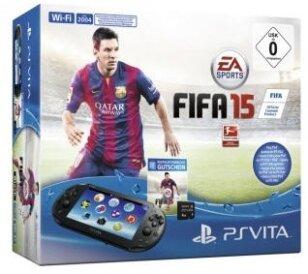PSVita Konsole + Fifa 15 DLC +4GB