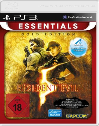 Resident Evil 5 - Essentials (Gold Édition)