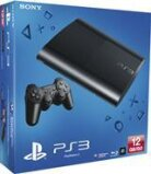 Playstation 3 Console 12 GB Super Slim Black