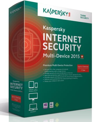 Kaspersky Internet Security 2015 3User MultiDevice (PC)