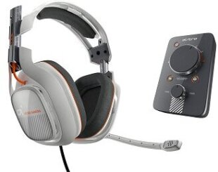 Astro Gaming A40 Headset Light Grey inkl. MixAmp (PS4, PS3, PC, MAC)*