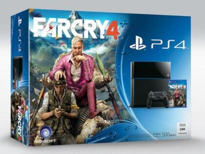 Sony Playstation 4 500GB + Far Cry 4