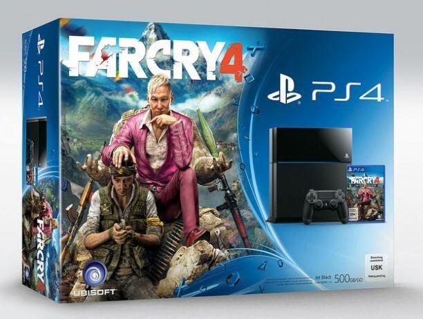 Sony Playstation 4 500GB + Far Cry 4