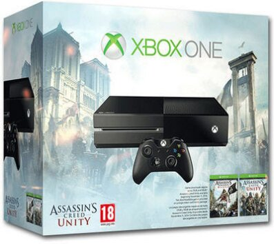 XBOX ONE 500GB Console + Assassin's Creed Unity