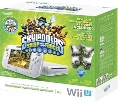 WiiU Konsole Basic Skylanders white
