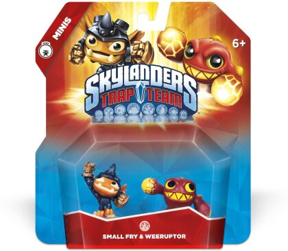 Small Fry & Weeruptor Minis for Skylanders Trap Team