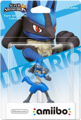 Amiibo Smash Lucario