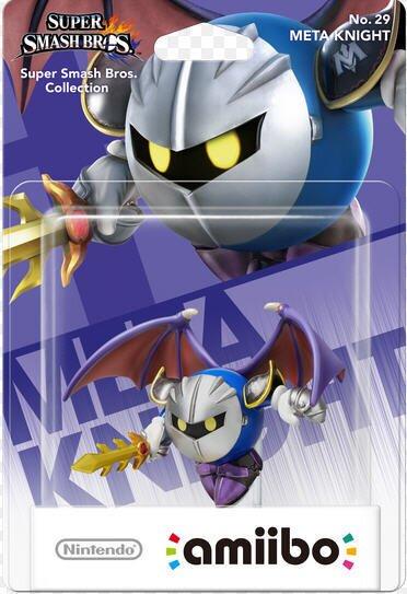 amiibo Super Smash Bros. Character No. 29 - Meta Knight