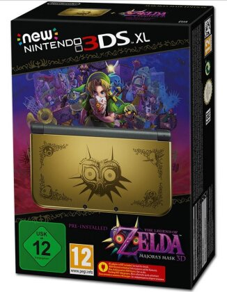 Nintendo New 3DS XL Console - The Legend of Zelda Majoras Mask (Limited)