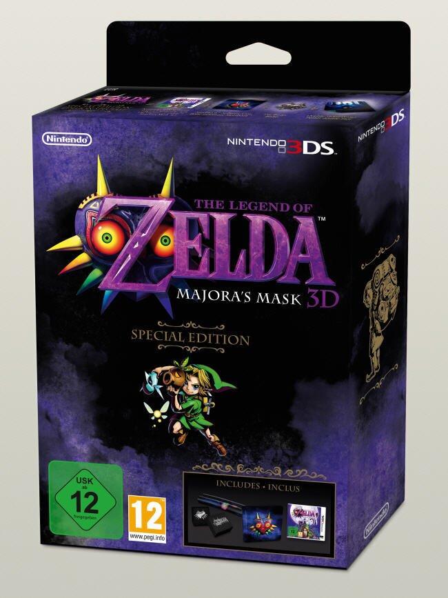 The Legend of Zelda: Majoras Mask (Steelbook Edition)