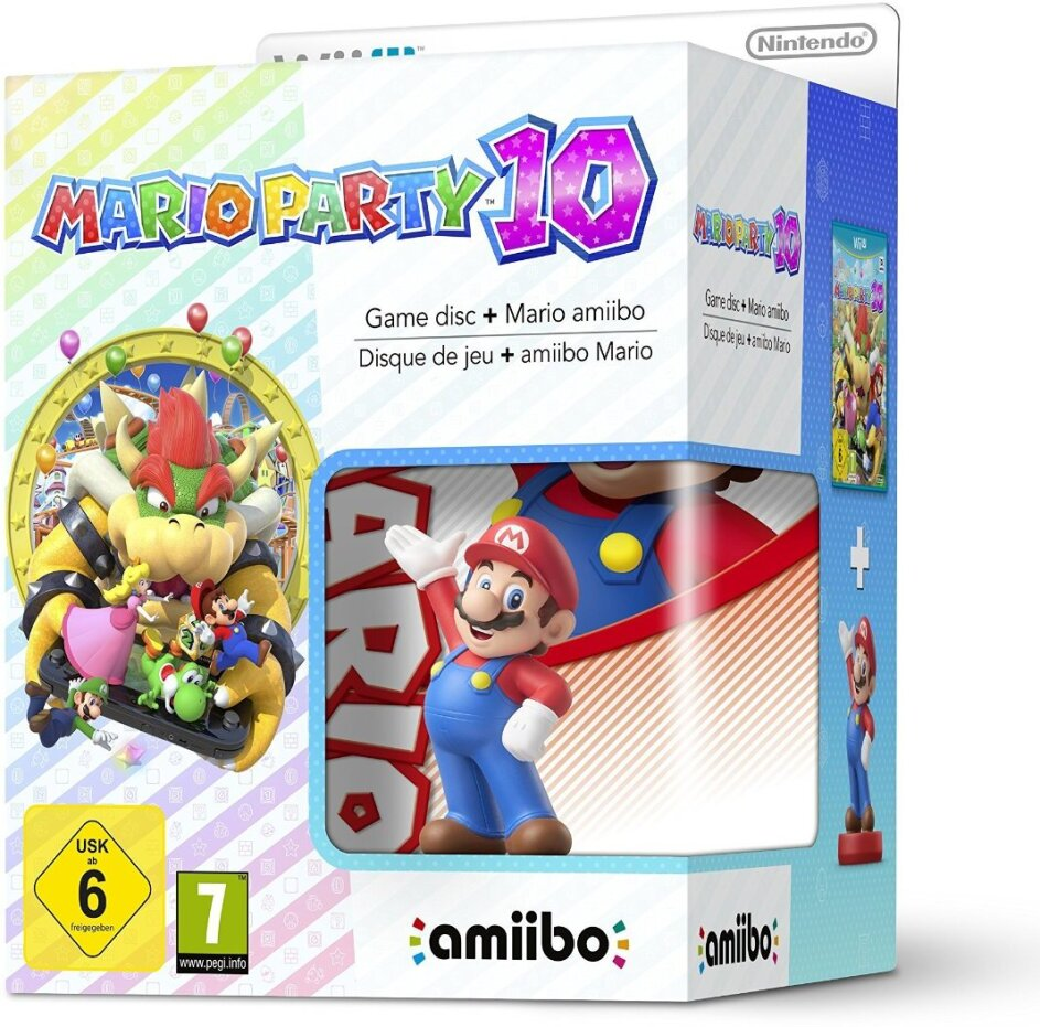 Mario Party 10 incl. Amiibo Figurine