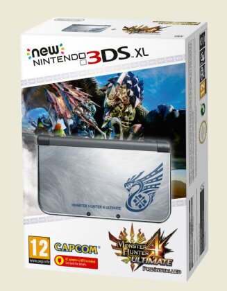 Nintendo New 3DS XL Console - Monster Hunter 4 (Limited)