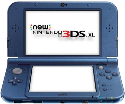 New 3DS XL Console - blu metallico
