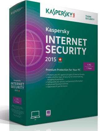 Kaspersky Internet Security 2015 - 1 User (PC)