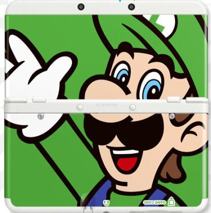 NEW 3DS COVER 002 LUIGI