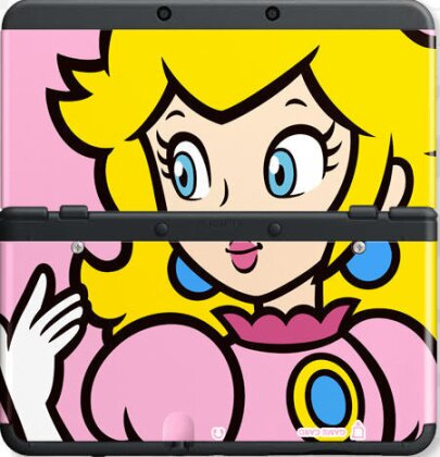 NEW 3DS COVER 004 PEACH