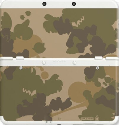 NEW 3DS COVER 017 CAMOUFLAGE