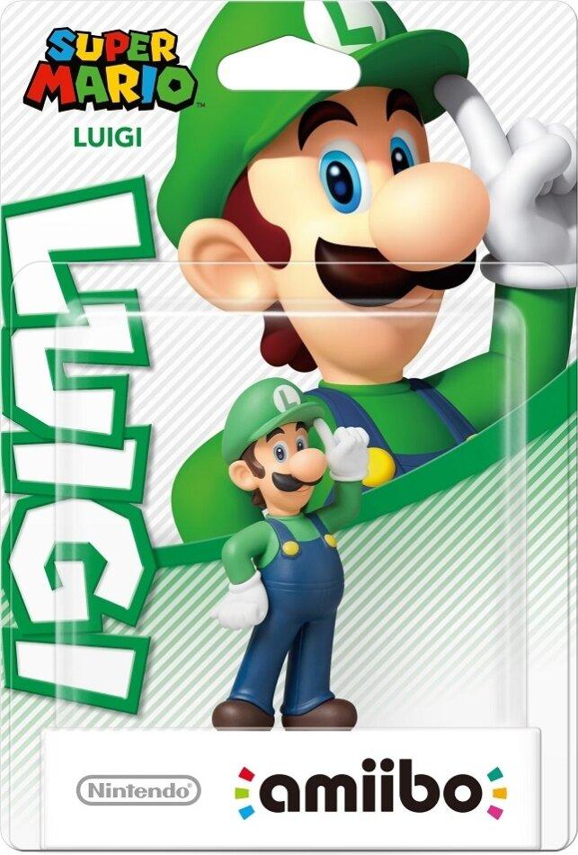 amiibo Super Mario Character - Luigi