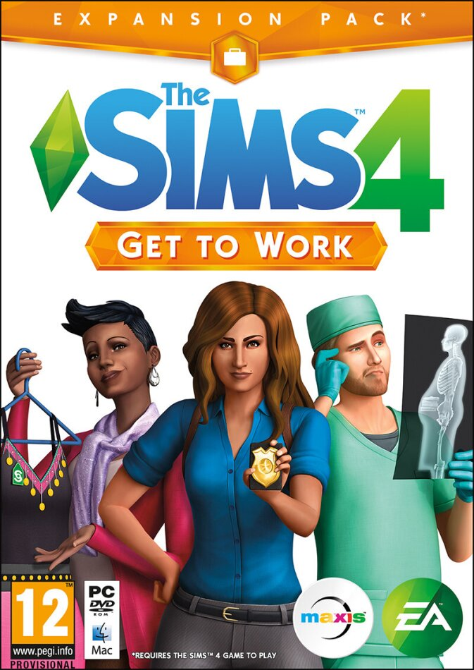 The Sims 4 - Get to Work (Add-On)