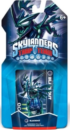 Skylanders Trap Team Figur Blackout