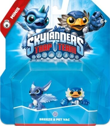 Skylanders Trap Team Mini Double Pack 7 (Breez, Pet-Vac)