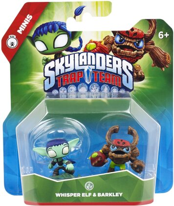 Skylanders Trap Team Mini Double Pack 8 (Elf, Barkley)
