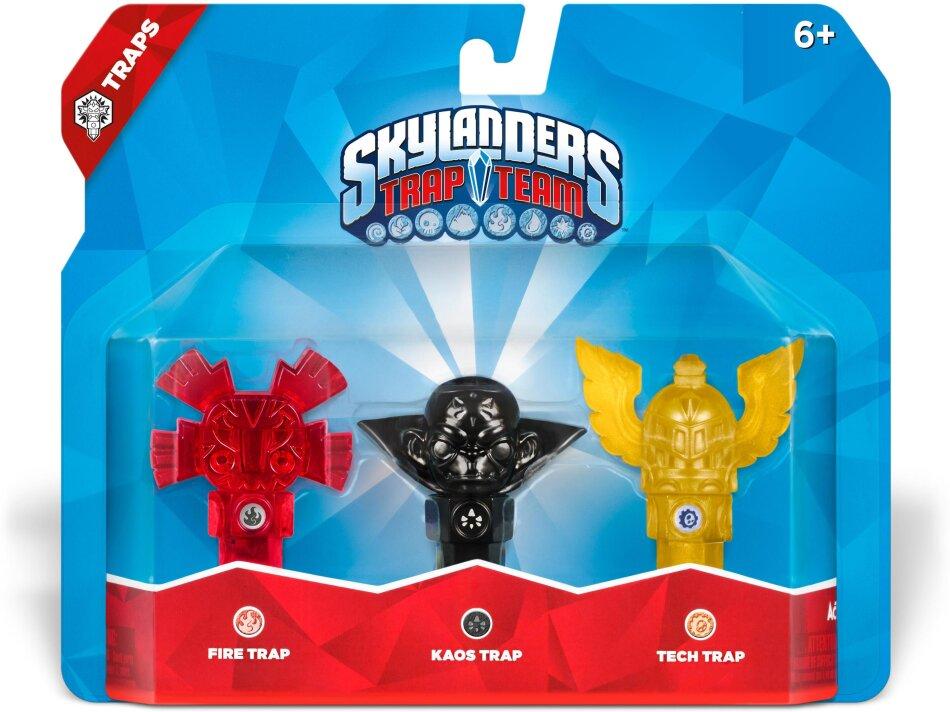 Skylanders Trap Team Triple Pack 4 (Fire, Kaos, Technik)