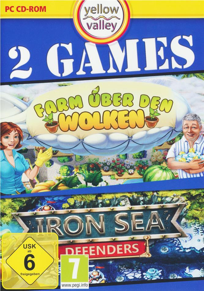 2 in 1 Iron Sea Defenders + Farm über den Wolken