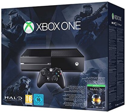XBOX-One 500GB + Halo: Masterchief DLC