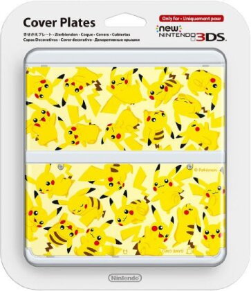 NEW 3DS COVER 022 PIKACHU
