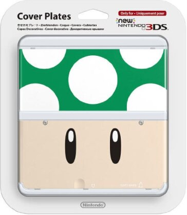 NEW 3DS COVER 008 1-UP-PILZ