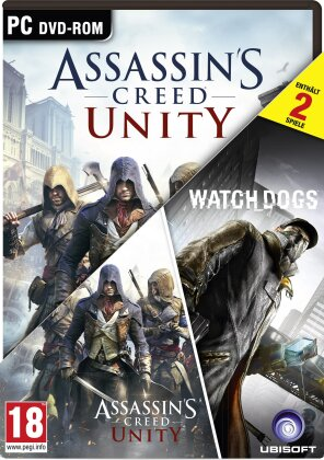 Big Hit Pack: Assassins Creed Unity & Watch Dogs